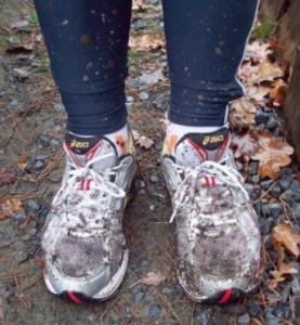 bosloop schoenen