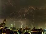 lopen,onweer